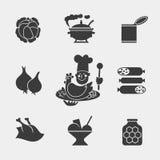 Mono food1 ilustración del vector