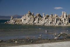 Mono formações do tufo do lago Foto de Stock Royalty Free
