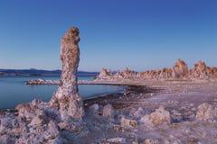 Mono Jeziorny półmrok Zdjęcia Stock