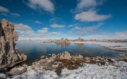 Mono jezioro Zdjęcie Stock