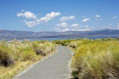 Mono jezioro krajobraz Zdjęcie Royalty Free