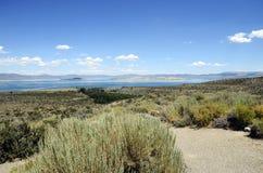 Mono jezioro krajobraz, usa Obraz Stock