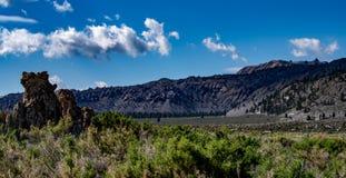 Mono jezioro, Południowy Tufa, Owens dolina, Kalifornia Zdjęcie Stock