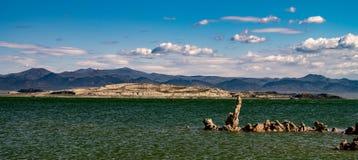 Mono jezioro, Południowy Tufa, Owens dolina, Kalifornia Fotografia Stock