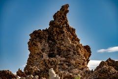 Mono jezioro, Południowy Tufa, Owens dolina, Kalifornia Obrazy Royalty Free