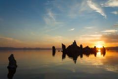 Mono jezioro, usa Obraz Royalty Free
