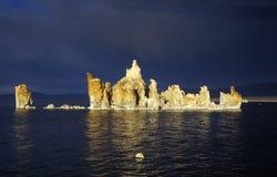 mono Kalifornien lake Royaltyfri Fotografi