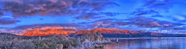 Mono lago Imágenes de archivo libres de regalías