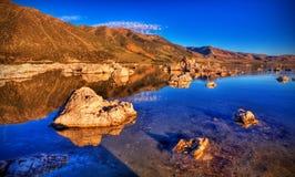 Mono lago Fotografie Stock Libere da Diritti