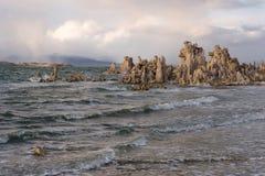 Mono lago Fotografía de archivo libre de regalías