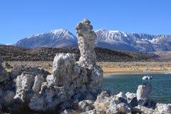 Mono lago em Califórnia Fotografia de Stock Royalty Free