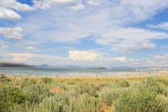 Mono lago, EUA Fotos de Stock