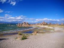 Mono lago salino da soda, Califórnia Imagem de Stock Royalty Free