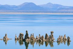Mono Lake. In the Sierra Nevada Royalty Free Stock Photography