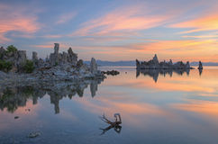 Mono Lake at Dawn Stock Photo