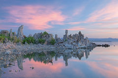 Mono Lake at Dawn Royalty Free Stock Images