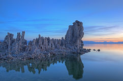 Mono Lake at Dawn Stock Photos