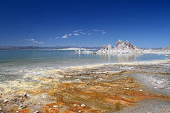Mono lake at day Stock Images