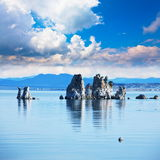 Mono lake. Formations Stock Image