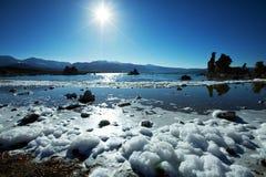 Mono lake Royalty Free Stock Photo
