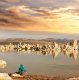 Mono lake Stock Photo