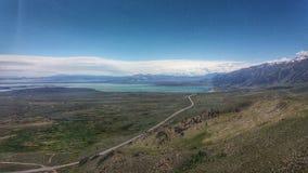 Mono Lake and Hwy 395 stock photos