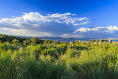 Mono Lake landscape, California, USA. Royalty Free Stock Photo