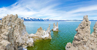 Mono Lake Monuments Royalty Free Stock Photo