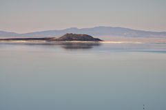 Mono Lake. Mystical Mono Lake, Eastern Sierra Nevada Range Royalty Free Stock Photo