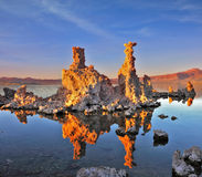 Mono Lake - a natural wonder in the United States Stock Image