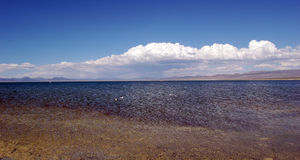 Mono lake panorama Stock Photo