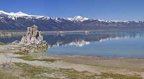 Mono Lake. Panorama. Royalty Free Stock Photography