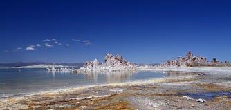 Mono lake panorama Royalty Free Stock Images