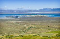 Mono Lake, Panoramic Vista, California Stock Images