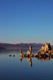 The Mono Lake with reef-Tufa Royalty Free Stock Photo