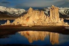 Mono Lake Reflections Royalty Free Stock Photography