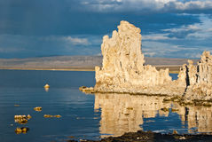 Mono Lake Relections Royalty Free Stock Images