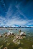 Mono lake Rock Formations Royalty Free Stock Photo