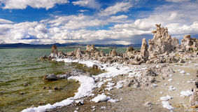 Mono Lake, Sierra Nevada, Environment California Stock Photography