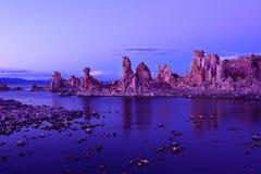 Mono Lake - South Tuffas. Stunning tuffas at the shoreline of Mono Lake, California Royalty Free Stock Photos
