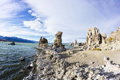 Mono Lake State Tufa Natural Reserve in California royalty free stock images