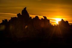Mono Lake Sunrise Stock Image