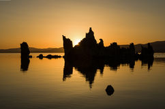 Mono Lake Sunrise Stock Image