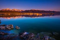 Mono Lake Sunrise Stock Photos