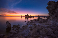 Mono Lake at Sunrise South Tufa Stock Photos