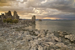 Mono Lake at Sunset Royalty Free Stock Photos
