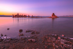 Mono Lake sunset stock photography