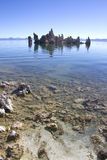 Mono Lake Surf and Tufa Royalty Free Stock Images