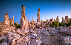 Mono lake tufa formation Stock Photography