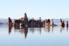 Mono Lake Tufa formations Stock Image